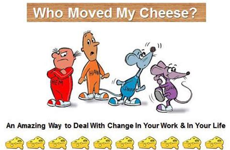 Who Moved My Cheese Spencer Johnson Book Summary